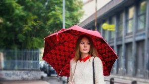Модные зонты - незаменимый аксессуар в непогоду