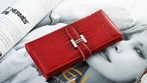 Модный женский кожаный кошелек