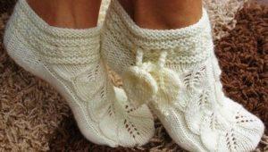 Носки-тапочки для всей семьи