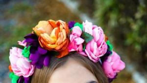 Ободок с цветами - подчеркни свою натуральную красоту!