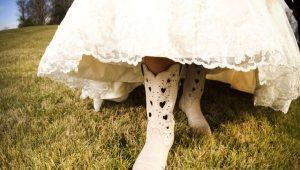Свадебные сапоги
