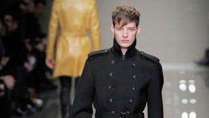 Зимние кожаные мужские сапоги