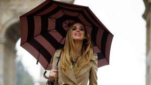 Женский зонт-трость