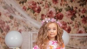 Детская нарядная одежда для девочек