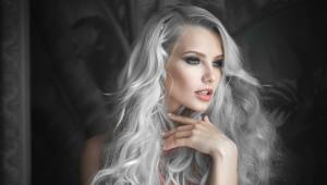 Серый тоник для волос