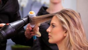 Круглая расческа для укладки волос