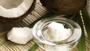 Нерафинированное кокосовое масло для волос