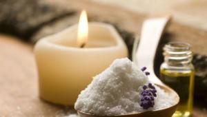 Солевой cкраб для кожи головы