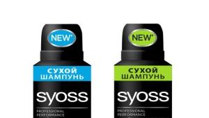 Сухой шампунь Syoss