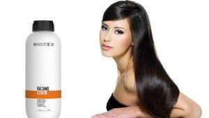 Бальзам для волос с кератином