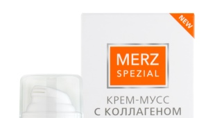 Крем-мусс Merz с коллагеном