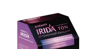 Оттеночный бальзам Irida Ton