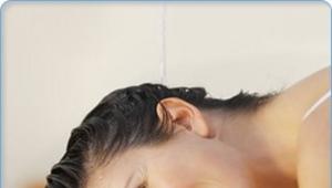 Питательный шампунь для волос