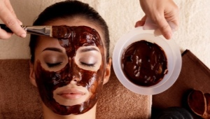 Шоколадная маска для лица