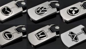 Брелок с логотипом для ключей от автомобиля