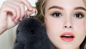 Брелок в виде кролика