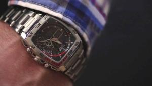 Как укоротить браслет на часах Casio?