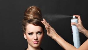 Лак для волос сильной фиксации