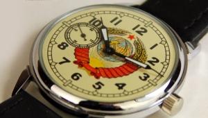 Наручные часы из СССР