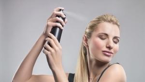 Профессиональный лак для волос