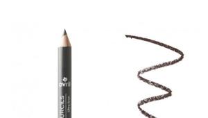 Серый карандаш для бровей