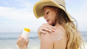 Солнцезащитное молочко