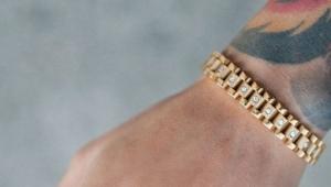 Золотые мужские браслеты