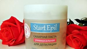Паста Start Epil для шугаринга