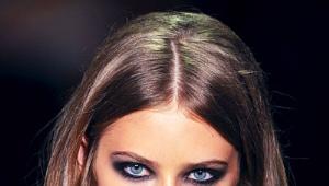 """Smoky eyes"" для голубых глаз"