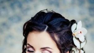 Свадебный макияж для брюнеток