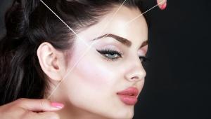 Удаление волос ниткой