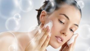 Умывание содой и пеной для бритья