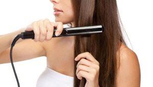 Мини-утюжок для волос