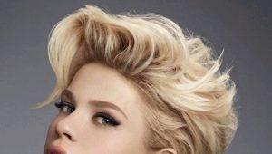 Укладка феном на короткие волосы