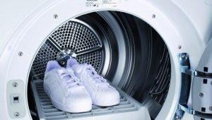 Правила стирки обуви в стиральной машинке