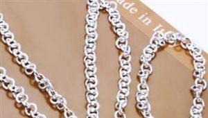 Как почистить серебряную цепочку?