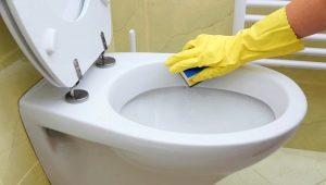 Как почистить унитаз?