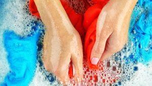 Как правильно стирать вручную?