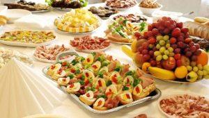 Оформление блюд к праздничному столу в домашних условиях: интересные идеи