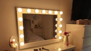 Зеркало для макияжа: разновидности и характеристики некоторых моделей