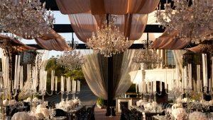 Особенности оформления свадебного стола