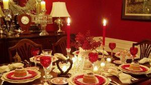 Сервировка праздничного стола в домашних условиях: расположение блюд и идеи оформления