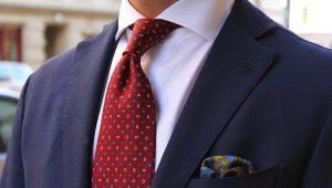 Какой должна быть длина галстука по этикету?
