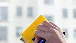 Как правильно подобрать и использовать щетку для мытья окон?