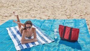 Пляжные коврики: разновидности и выбор
