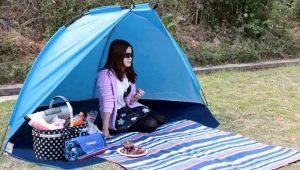Как выбрать одноместную палатку?