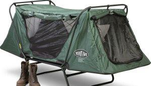 Палатки-раскладушки: виды и особенности эксплуатации