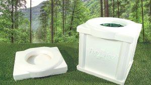 Варианты походного туалета