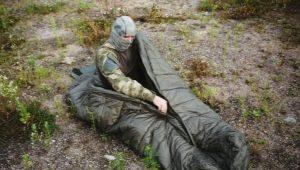 Армейские спальные мешки: разновидности и рекомендации по выбору