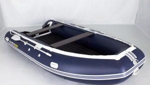 Осуществление ремонта лодок из ПВХ
